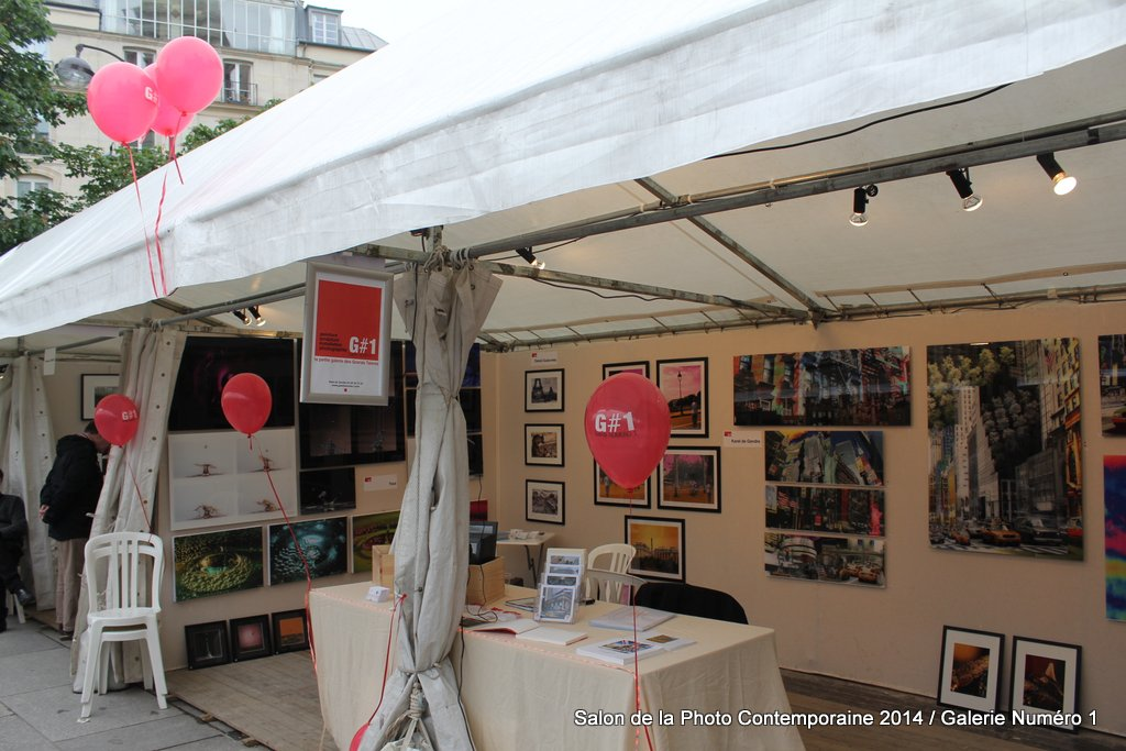 Stand 210/212 avec Galerie Numéro 1 au Salon de la Photo Contemporaine 2014
