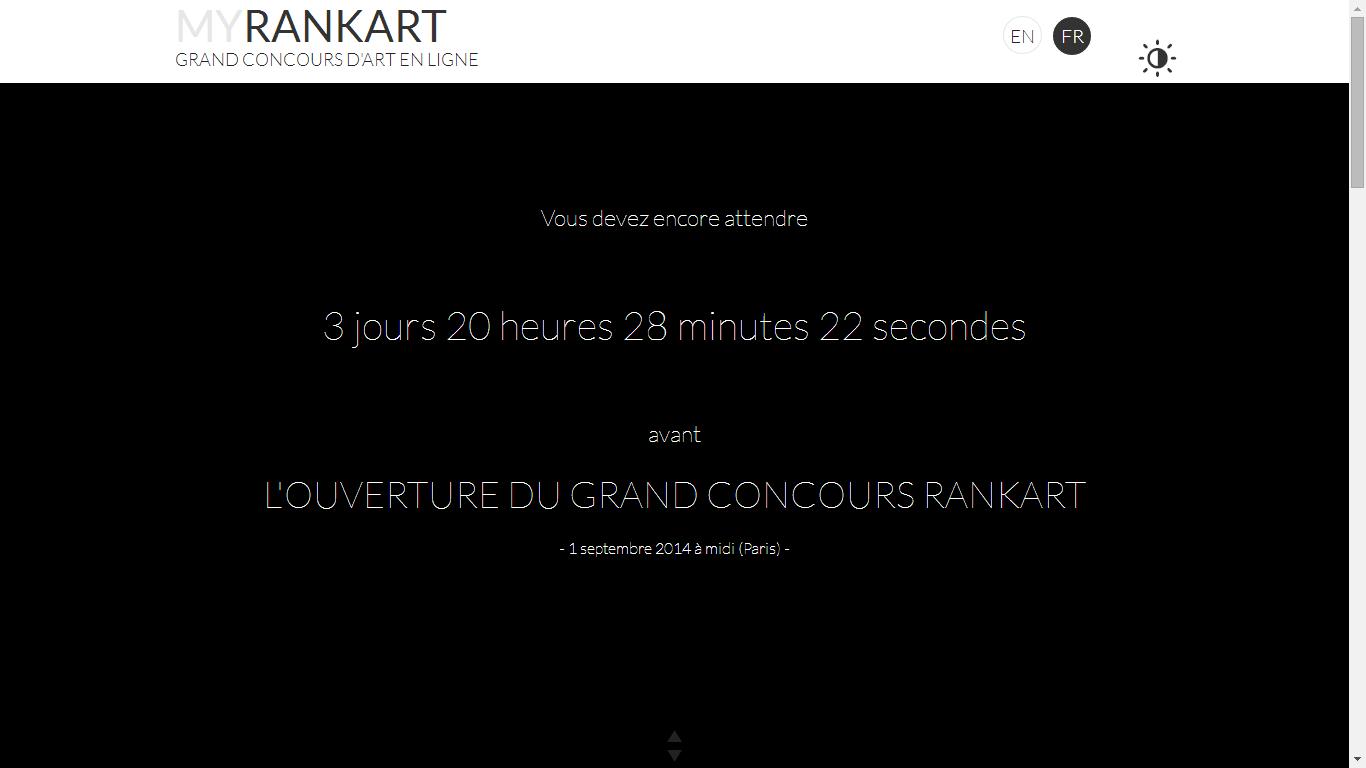 Ouverture Concours MyRankArt