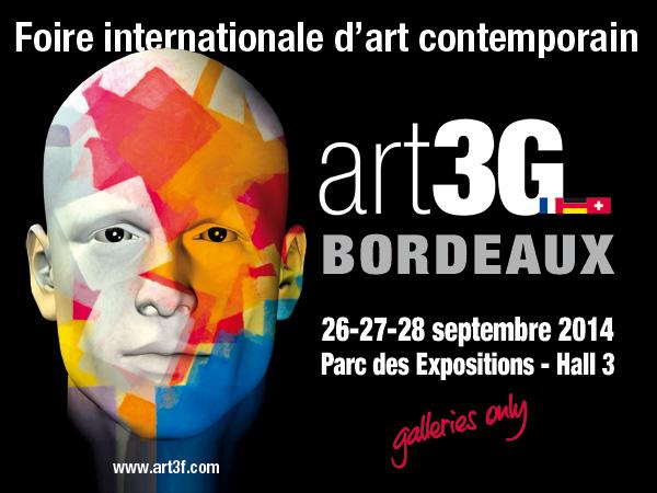Salon Art3G Bordeaux avec G#1