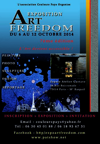 Exposition Arts Freedom