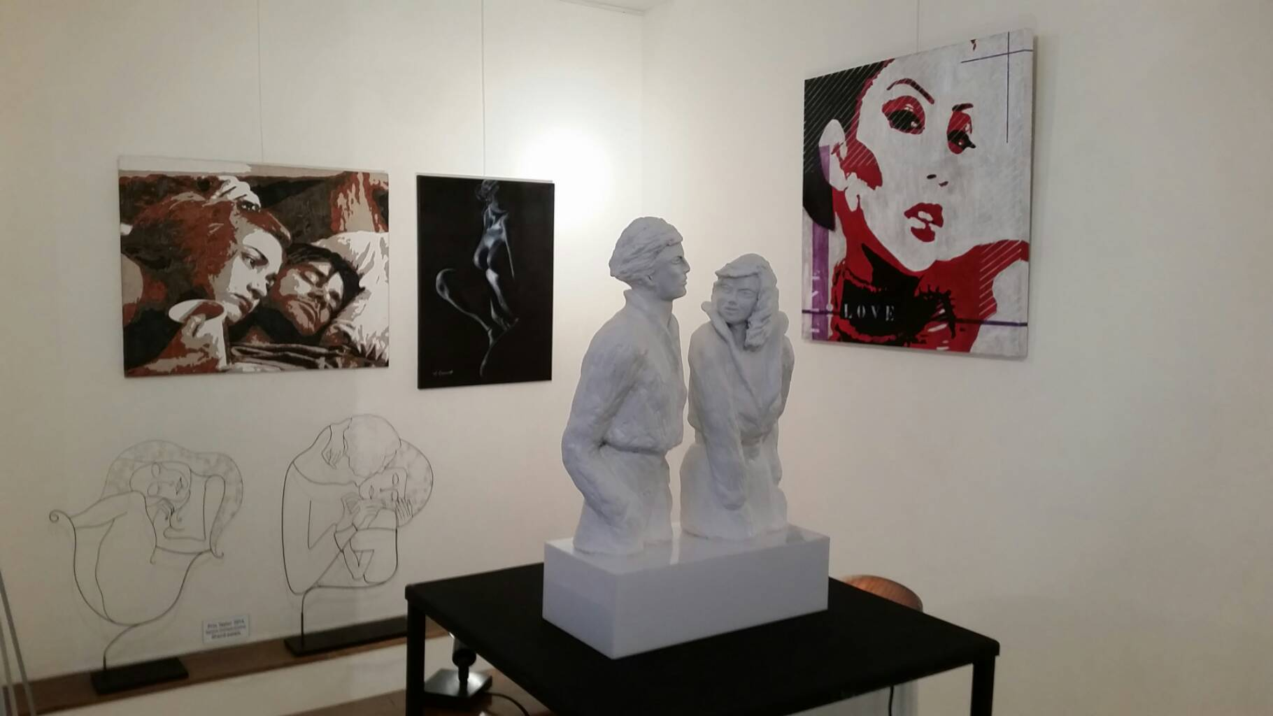 "Finissage de ""Love etc"""
