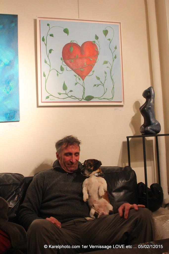 Reportage vernissage LOVE etc …