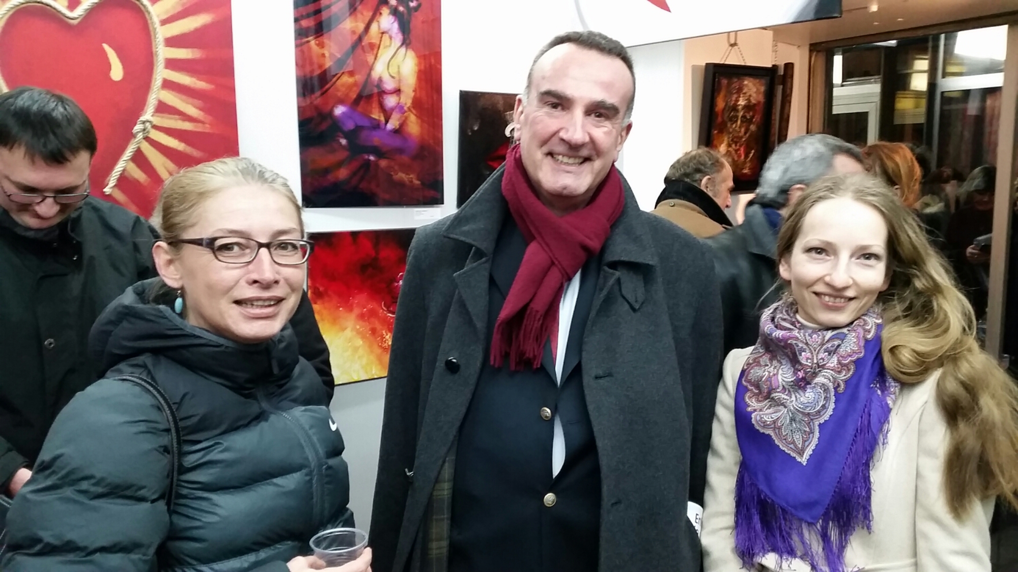 "Exposition ""LOVE etc…"", Photos vernissage du 10 février 2015"