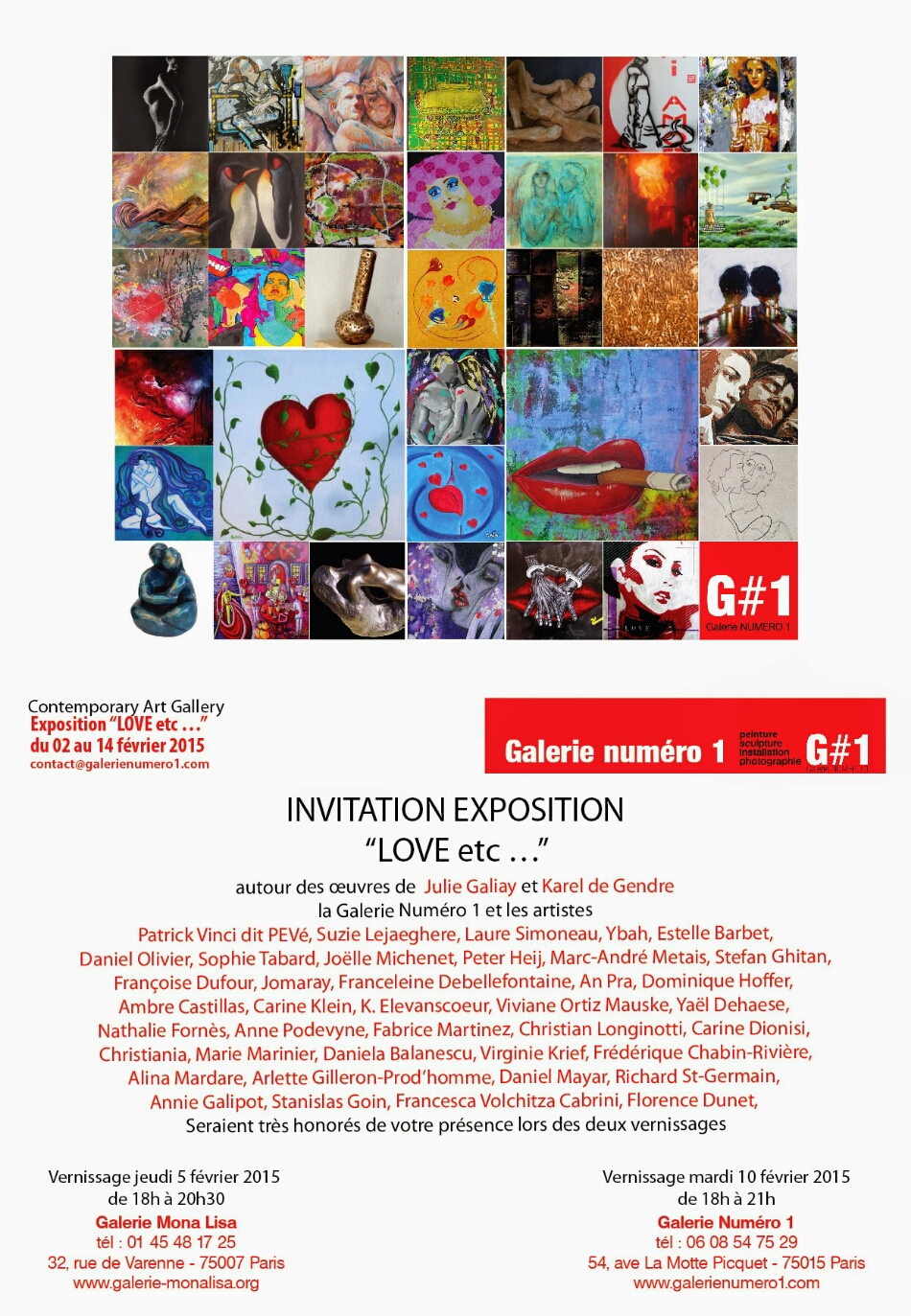 J-2 vernissage expo LOVE etc