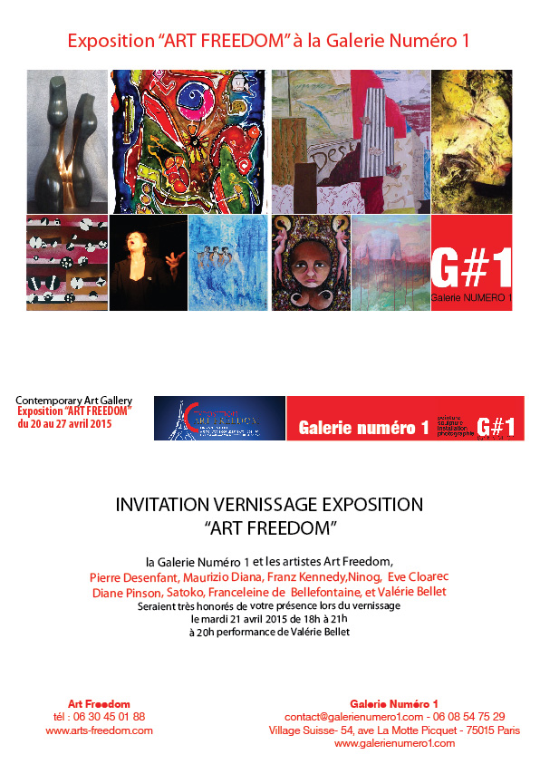 Exposition Artistes Art Freedom