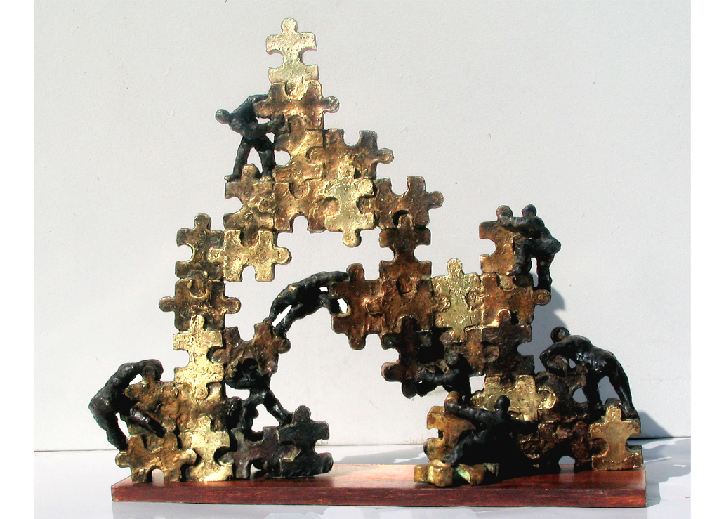 Les sculptures de Jack Cros et Anne de Crécy sont chez G#1