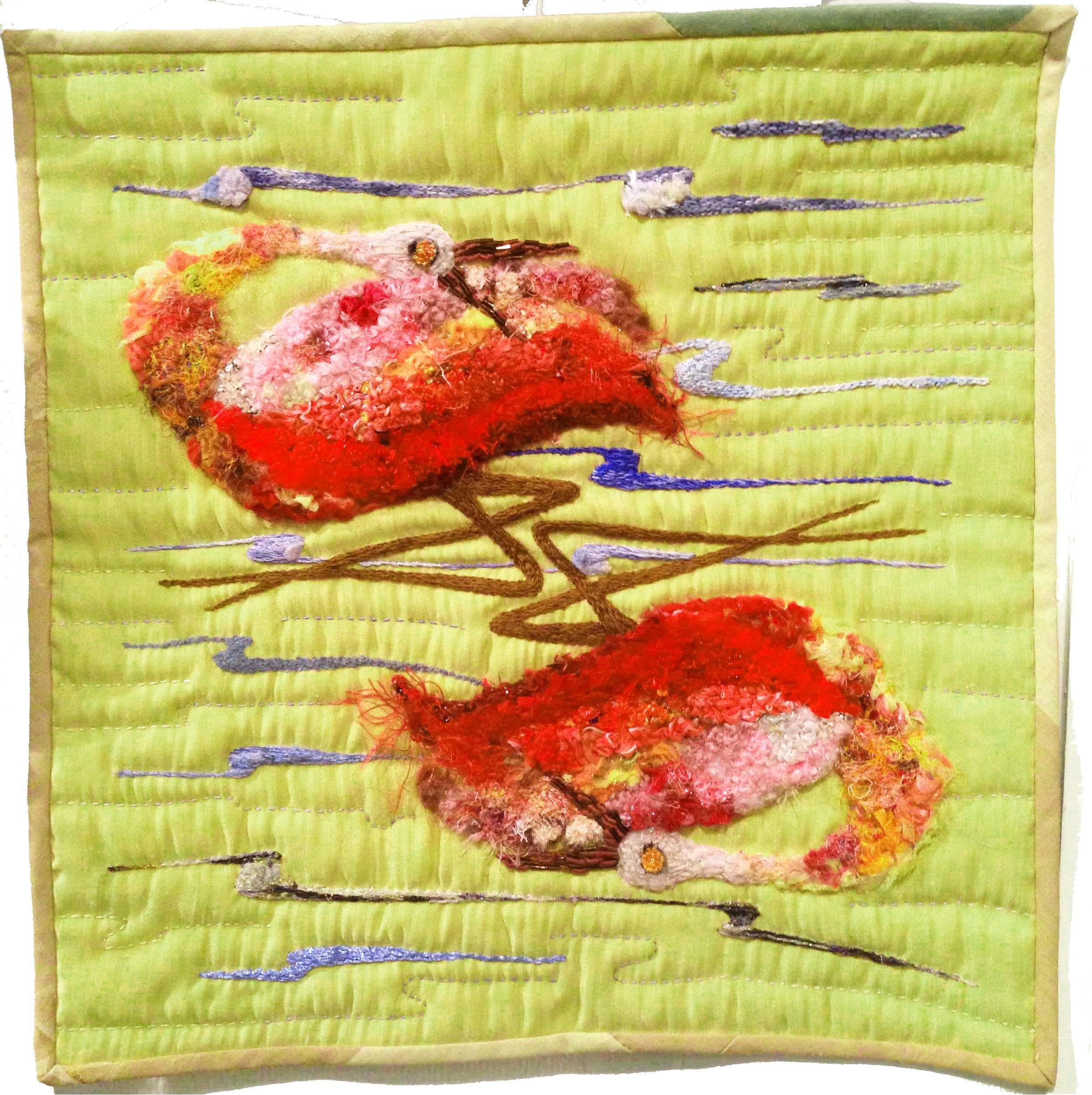 Brésilart France présente ses artistes pour l'expo Arts Textiles