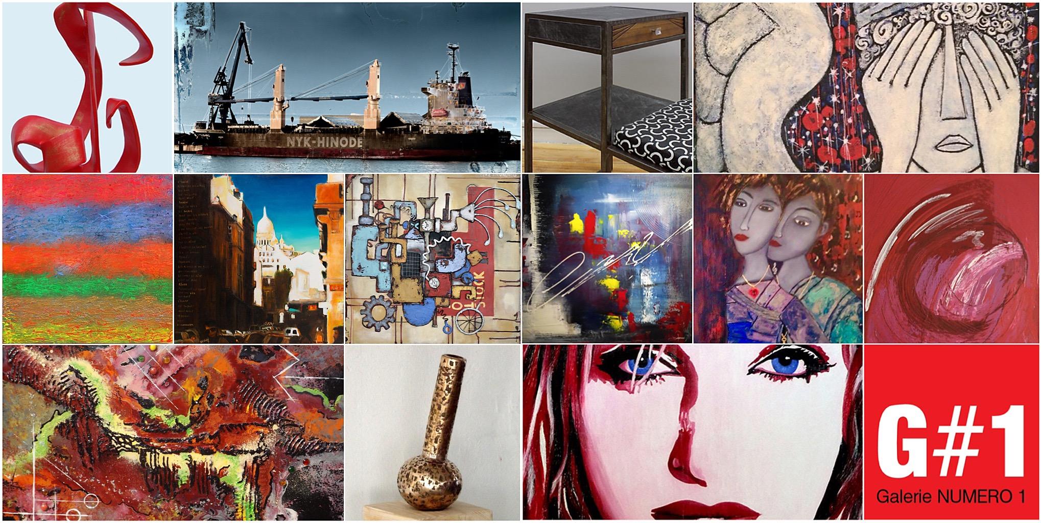 Galerie Numéro 1 participe à art3f Lyon