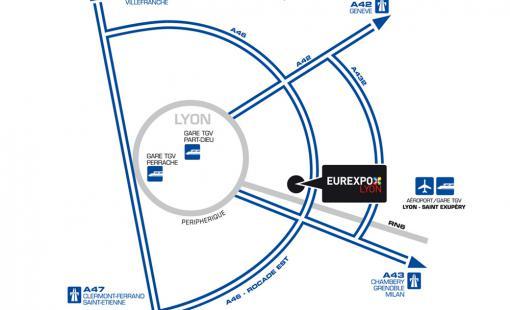 Vernissage au salon Art3F à Lyon