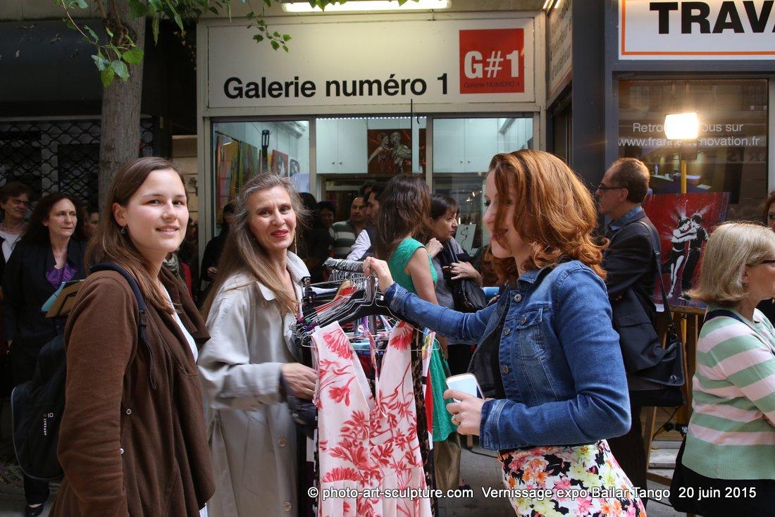 Vernissage Expo Bailar Tango chez Gn1