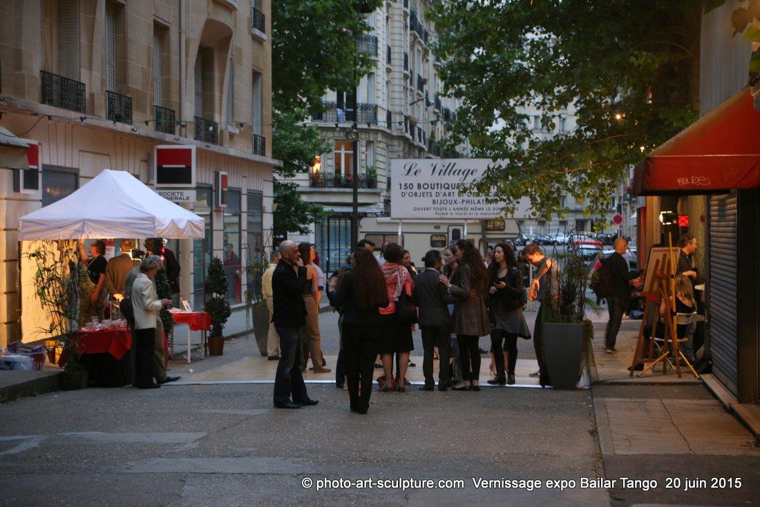 Vernissage Expo Bailar Tango chez G#1