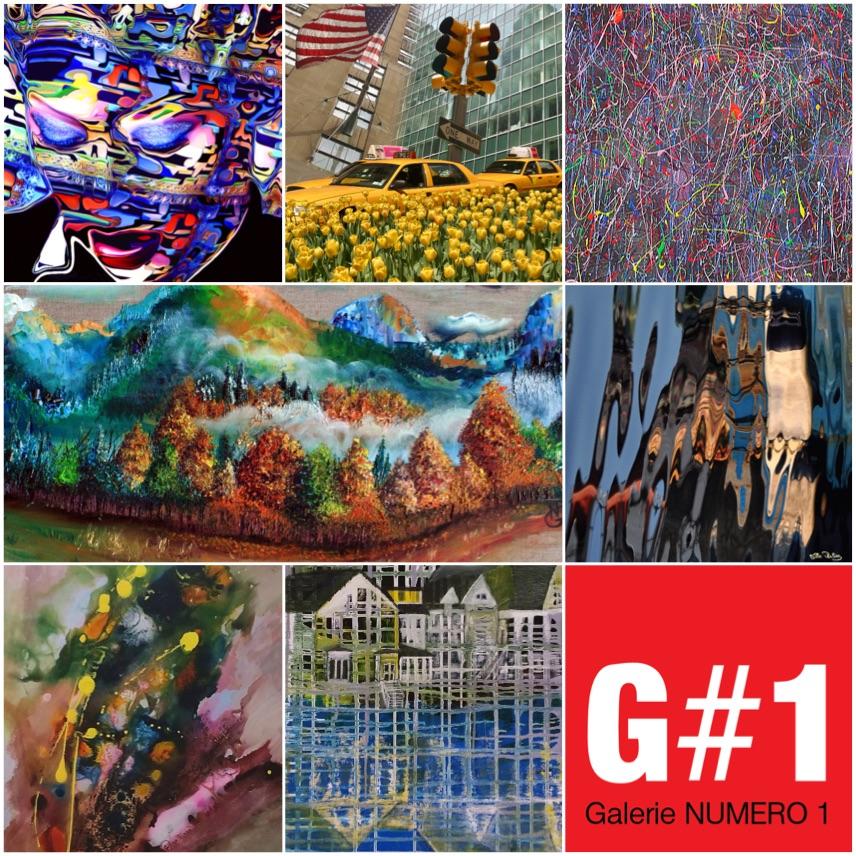 Les artistes du Art Pack de G#1 à Saint Petersbourg