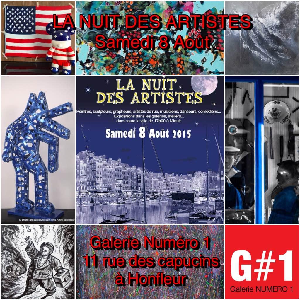 NUIT DES ARTISTES CHEZ G#1 À HONFLEUR