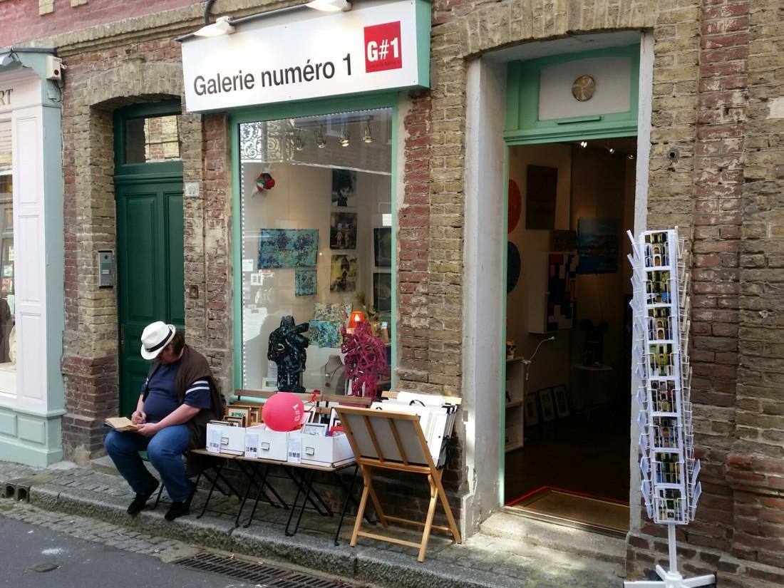 Galerie Numéro 1 Honfleur ouverte tout l'été.