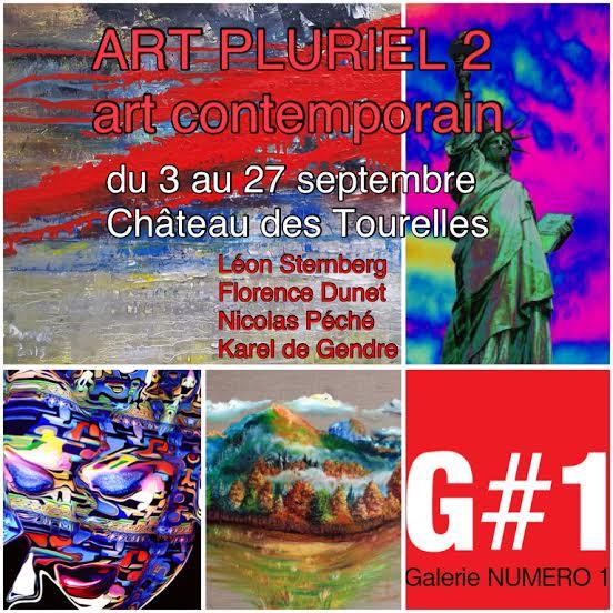 ART PACK G#1 au Château des Tourelles du 3 au 27 septembre