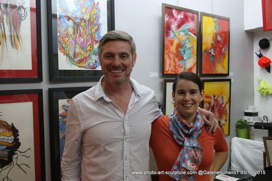 Photos de l'exposition Full of Colors chez G#1