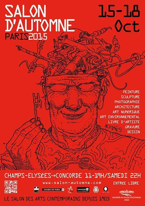 Salon d'Automne 2015, les artistes G#1 y sont !