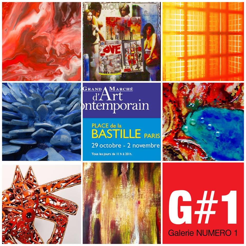 GMAC Bastille automne 2015 avec Galerie Numéro 1