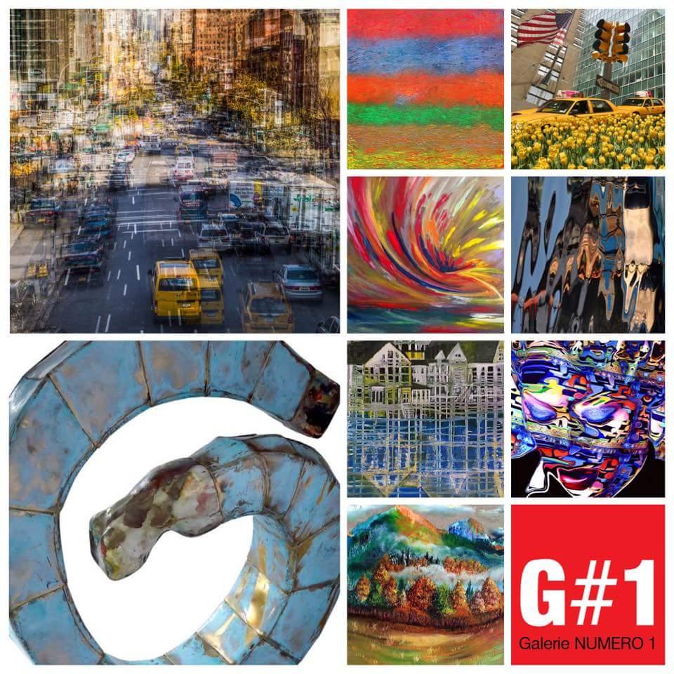 Artistes Artpack exposés au Business Art