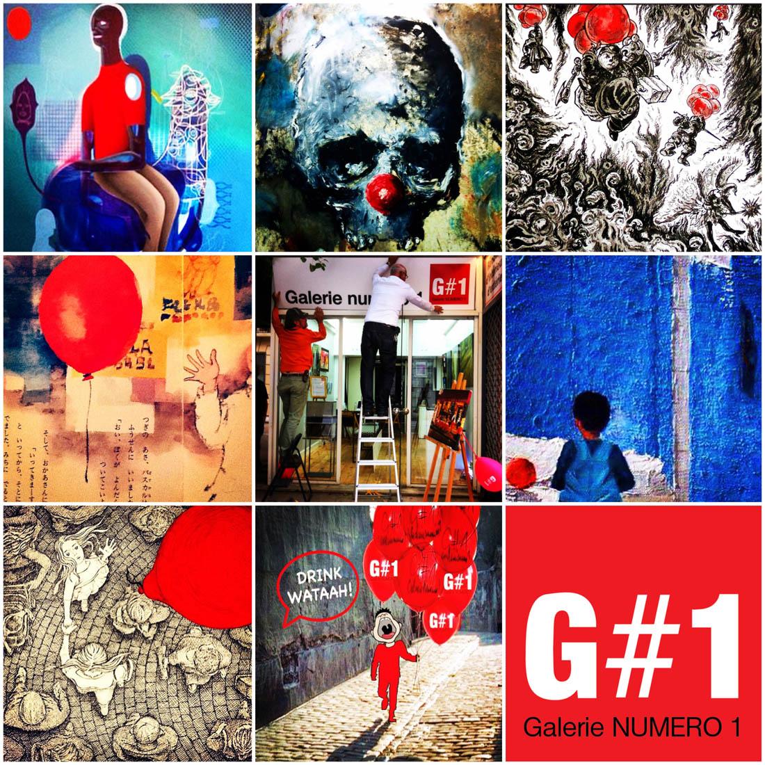 G#1 Marché d'art de Noël : Exposition Ballon Rouge !