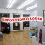 Exposition à louer