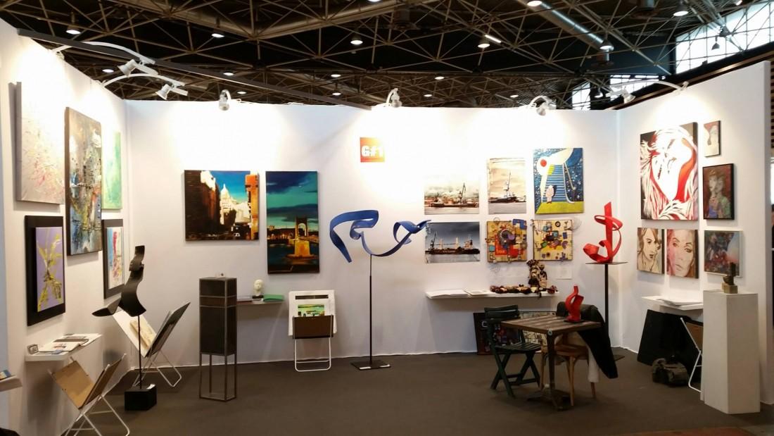 D coration salon art contemporain lyon 83 la rochelle - Salon deco villepinte ...