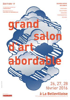 3 artistes Galerie Numéro 1 présents à la BELLEVILLOISE du 26 au 28 février