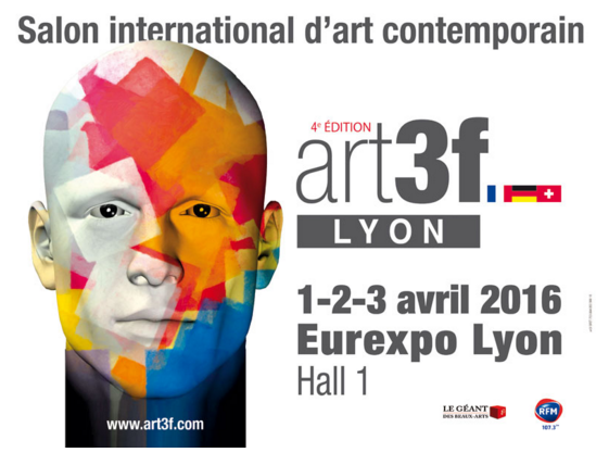 Logo art3f lyon galerie num ro 1 for Salon lyon 2016