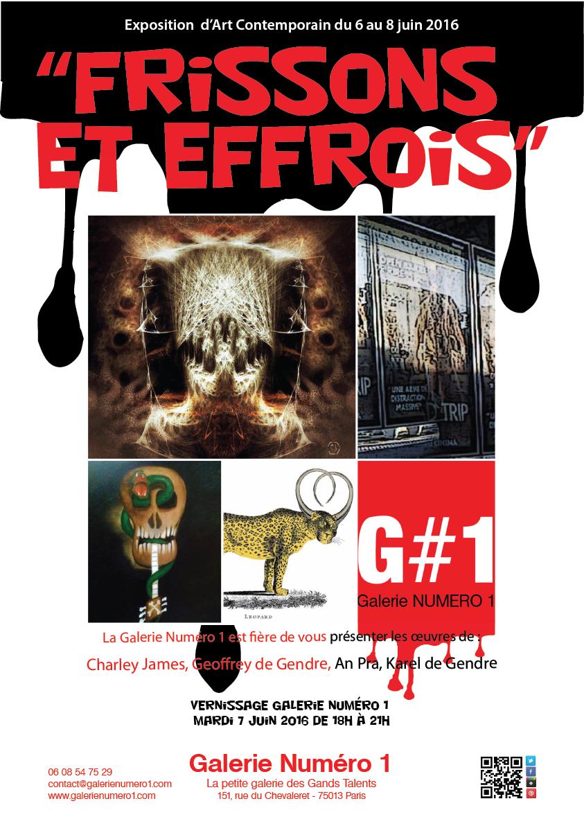 Exposition Frissons et Effrois chez G#1