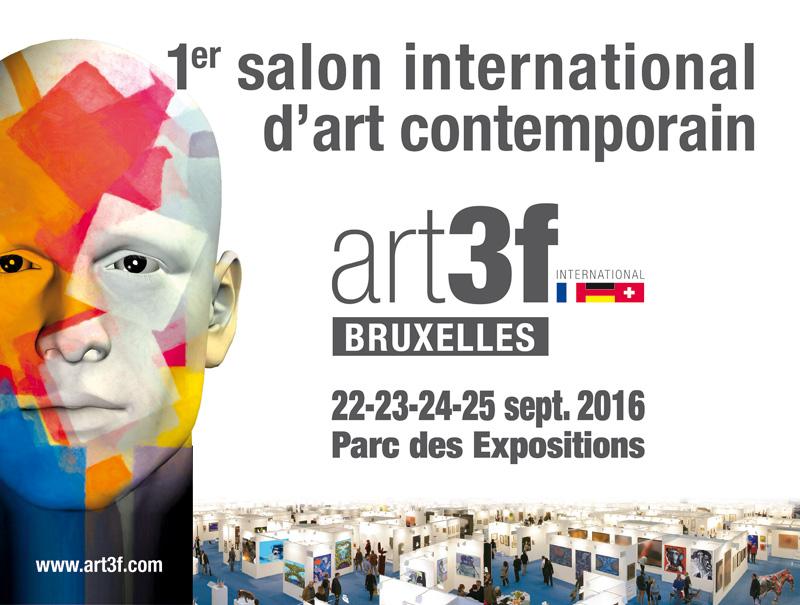 Expo Art3f Bruxelles du 22 au 25 septembre