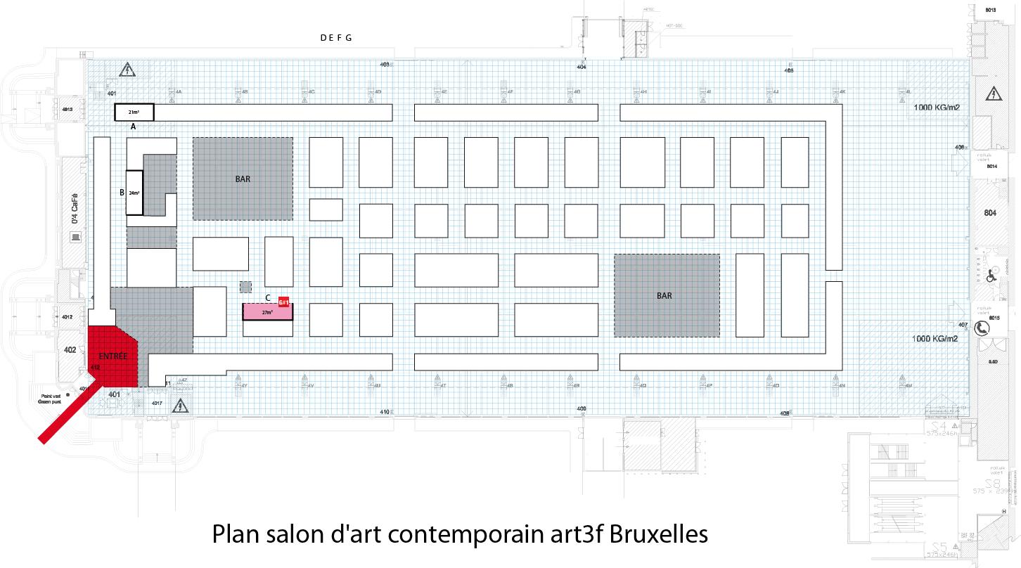 Expo art3f Bruxelles @ Parc des exposition Heysel | Bruxelles | Bruxelles | Belgique