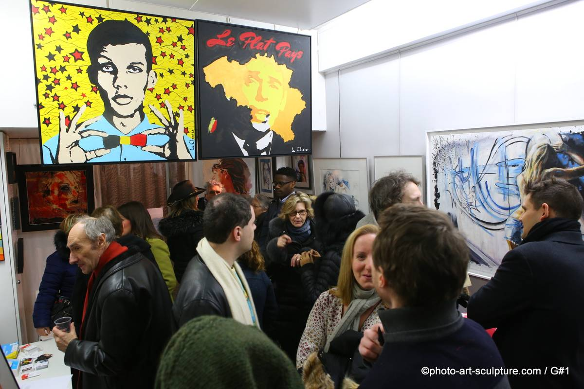 Vernissage Exposition portrait