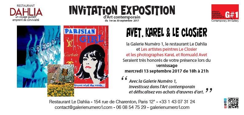 Jour J de l'exposition à Paris 12°