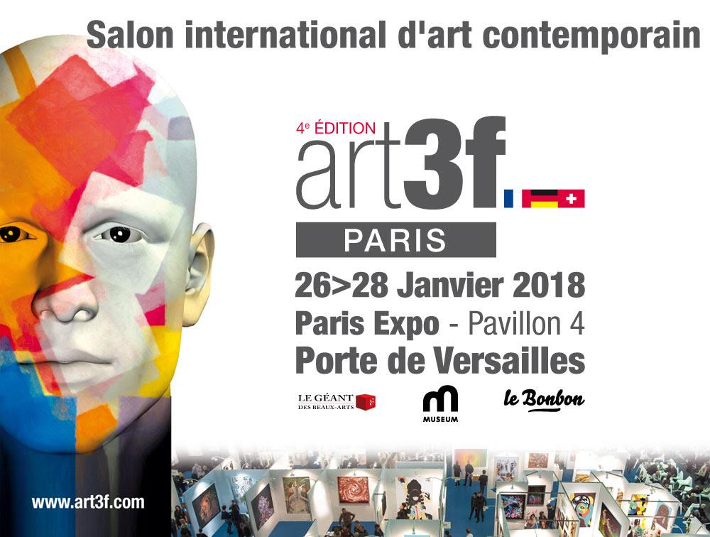 Inscrivez-vous pour exposer aux Salons d'Art