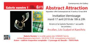 Abstract Attraction @ Galerie Numéro 1 | Paris-15E-Arrondissement | Île-de-France | France
